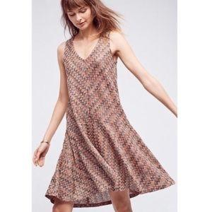 Maeve Dresses - Anthropologie Maeve Westwater Chevron Dress